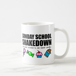 Sunday School Shakedown Coffee Mug