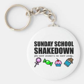 Sunday School Shakedown Keychain