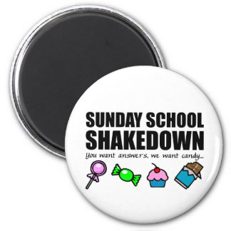Sunday School Shakedown Magnet