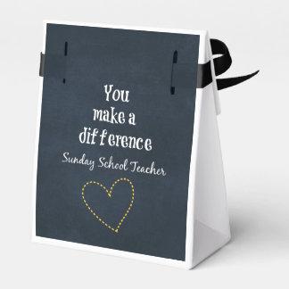 Sunday School Teacher Favor Box