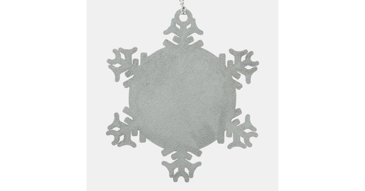 Sunday School Teacher Snowflake Pewter Christmas Ornament  Zazzlecom