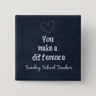 Sunday School Teachers Button