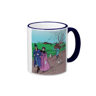 Sunday Stroll Coffee Mugs