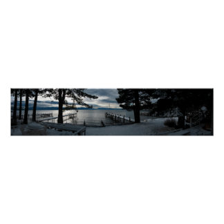 Sunday Sunrise in Lake Tahoe Poster