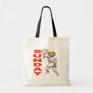 Sunday Tennis Canvas Bag