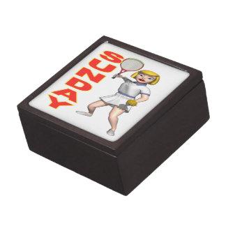 Sunday Tennis Premium Trinket Box