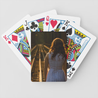 Sunday Tracks Coming Down Bicycle Playing Cards