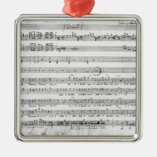 Sunday Vespers, 1779 Metal Ornament