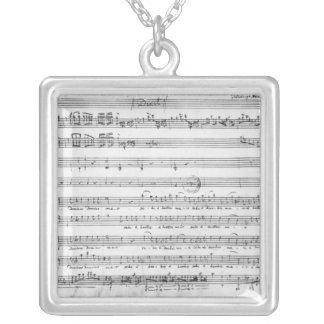 Sunday Vespers, 1779 Silver Plated Necklace