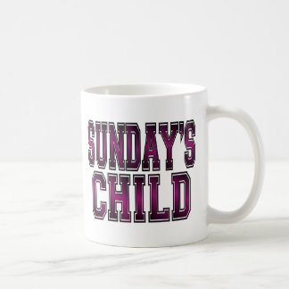 Sunday's Child Coffee Mug