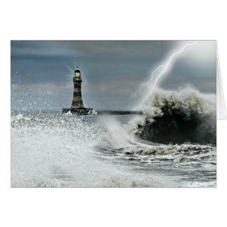 Sunderland - Roker Pier & Lighthouse Card