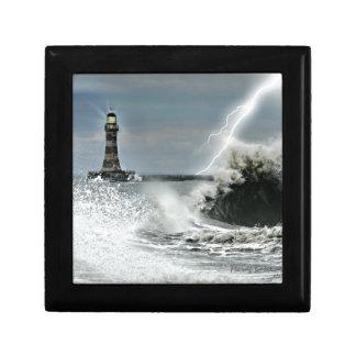 Sunderland - Roker Pier & Lighthouse Jewelry Box