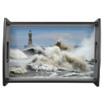 Sunderland - Roker Pier & Lighthouse Serving Tray