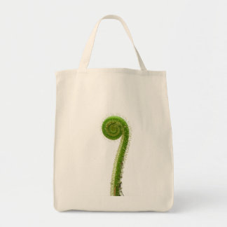 Sundew Frond Grocery Tote Bag