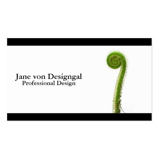 Sundew Frond Business Card