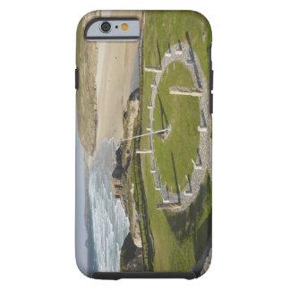 Sundial and Perran Beach, Perranporth, Cornwall, Tough iPhone 6 Case