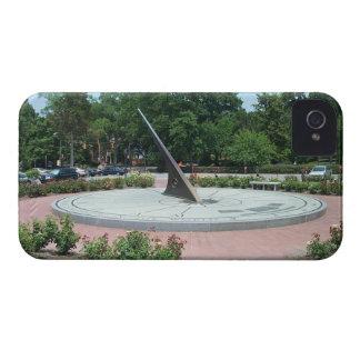 Sundial at Morehead Planetarium, Chapel Hill, NC iPhone 4 Case-Mate Case