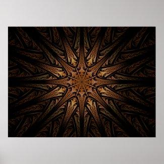 Sundial Fractal print