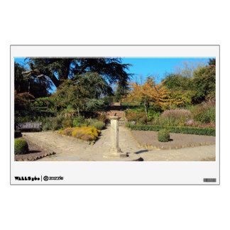 Sundial in the Rookery, Streatham Common, London Wall Sticker