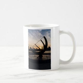 Sundial Sunset Coffee Mug