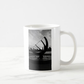 Sundial Sunset Grayscale Coffee Mug