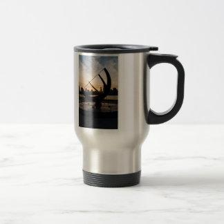 Sundial Sunset Travel Mug