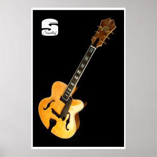 Sundlof Guitars Archtop Poster