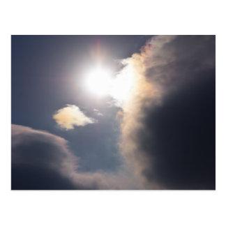 Sundog Rainbow Cloud Burst Apparel and Gifts Postcard