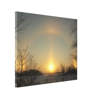 Sundogs canvas