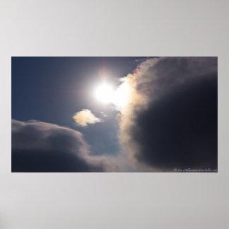 Sundogs - el arco iris se nubla el parque nacional poster