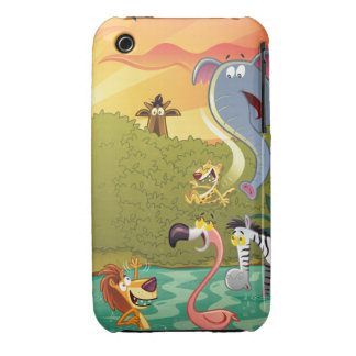 Sundown At The Water Hole Case-Mate iPhone 3 Case