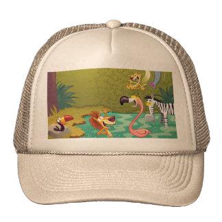 Sundown At The Water Hole Mesh Hat