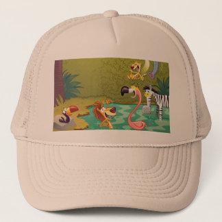 Sundown At The Water Hole Trucker Hat