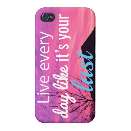 Sundown Electronics   Sunset Rooftops with Quote Case For iPhone 4