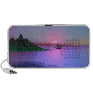 Sundown in the island Speakers iPhone Speakers