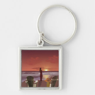 Sundown Keychain