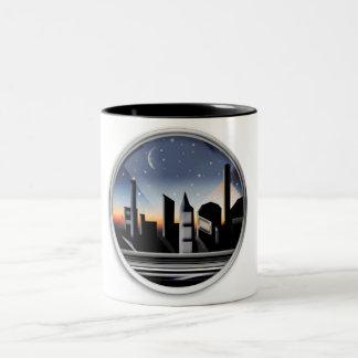 sundown Two-Tone coffee mug