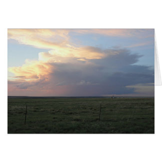 Sundown Thunderhead Card