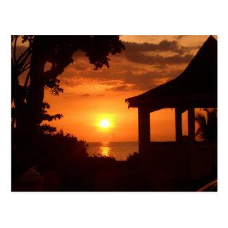 Sundown V Postcard