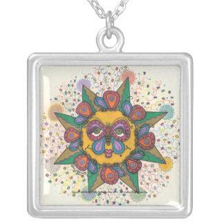 Sunfest - Square necklace