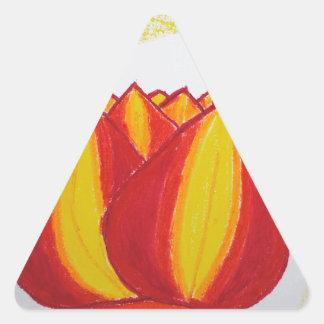 sunfire.jpg triangle sticker