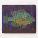 Sunfish de la semilla de calabaza tapete de raton