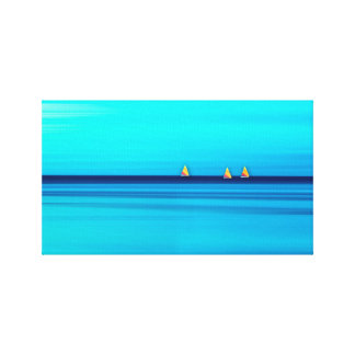 Sunfish Sailboats Gallery Wrapped Canvas