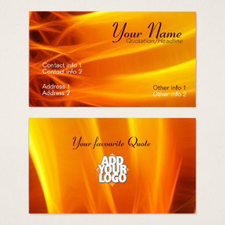SunFlame Business Card