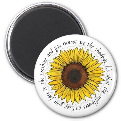 Sunflowe Magnet