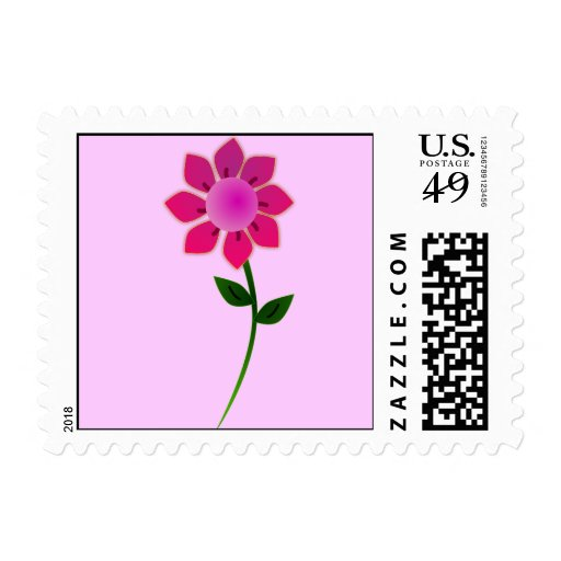 sunflower2_Vector_Clipart Postage Stamp