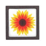 Sunflower.009 Cajas De Recuerdo De Calidad