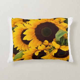 sunflower 01 decorative pillow