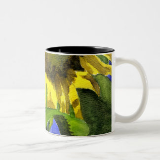 Sunflower 03 Painting Mug Watercolor Art
