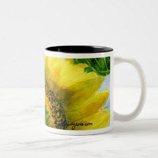 Sunflower 06 Painting Mug Watercolor Art